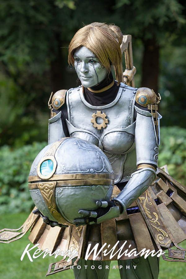 Orianna Reveck of League of Legends cosplay, Pax Prime 2015, Seattle, Washington State, WA, America, USA.