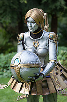 Orianna Reveck of League of Legends cosplay, Pax Prime 2015, Seattle, Washington State, WA, America, USA.