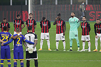 Milano 13-12-2020<br /> Stadio Giuseppe Meazza<br /> Campionato Serie A Tim 2020/21<br /> Milan - parma<br /> nella foto:       Raccoglimento                                                   <br /> Antonio Saia Kines Milano