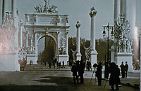 The Dewey Arch, c.1900 by Paul Cornoyer. Madison Square Park, New York - art prints and posters