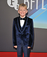 """Jude Hill at the 65th BFI London Film Festival """"Belfast"""" American Airlines gala, Royal Festival Hall, Belvedere Road, on Tuesday 12th October 2021, in London, England, UK. <br /> CAP/CAN<br /> ©CAN/Capital Pictures"""