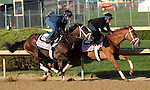 April 19, 2014 My Miss Sophia and Got Lucky work four furlongs in :48 flat for trainer Todd Pletcher at Churchill Downs.  They finished 1-2 in the Gazelle Stakes at Aqueduct.