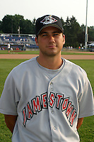 July 2, 2003:  Cody Chillo of the Jamestown Jammers during a game at Dwyer Stadium in Batavia, New York.  Photo by:  Mike Janes/Four Seam Images