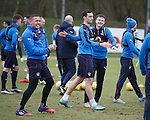 James Tavernier, Lee Wallace and Andy Halliday