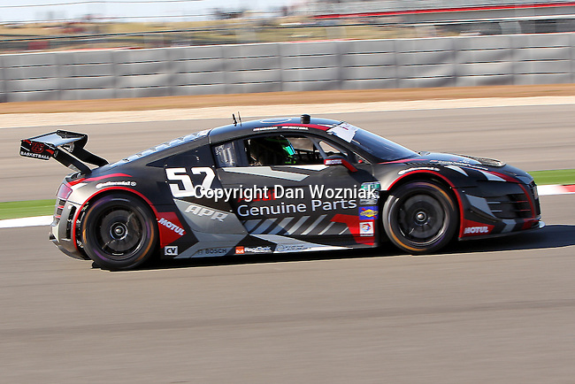 Ian Baas (52), Driver of APR Motorsports LTD.UK Audi R8 Grand-Am in action during the Grand Am of the Americas, Rolex race at the Circuit of the Americas race track in Austin,Texas...