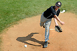 Aberdeen, MD: Tampa's Josh Russo maks a pitch during Thursday afternoon's Tampa v Willamette Valley game at the 2009 Cal Ripken World Series.