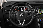 Car pictures of steering wheel view of a 2017 Opel Zafira Innovation 5 Door Mini MPV Steering Wheel