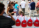 """July 27, 2014: Scenes from around the track as fans enjoy """"The Greatest Stretch on the Shore"""" and gear up for the Haskell on Haskell Invitational Day at Monmouth Park in Oceanport, New Jersey Scott Serio/ESW/CSM"""