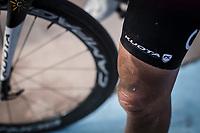 Christophe Laporte (FRA/Cofidis), post race<br /> <br /> 117th Paris-Roubaix (1.UWT)<br /> 1 Day Race: Compiègne-Roubaix (257km)<br /> <br /> ©kramon