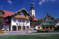 AJ0486, Michigan, Frankenmuth, Bavarian Inn Lodge in the German Community of Frankenmuth.