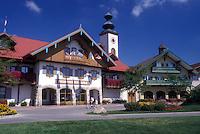 AJ0486, Michigan, Frankenmuth, Bavarian Inn Lodge in the German Community of Frankenmuth.