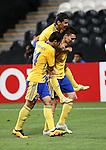 AL JAZIRA (UAE) vs PAKHTAKOR (UZB) during the 2016 AFC Champions League Group C Match Day 5 match at Mohammed Bin Zayed Stadium on 19 April 2016 in Abu Dhabi, United Arab Emirates.