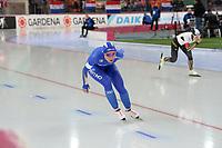 SPEEDSKATING: HAMAR: 01-03-2020, ISU World Speed Skating Championships, Allround, 5.000m Ladies, Francesca Lollobrigida (ITA), Nana Takagi (JPN), ©photo Martin de Jong