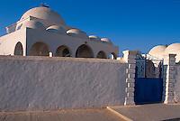Moschee in Mahboubine,  Djerba, Tunesien