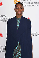 Michaela Coel<br /> at the announcement of the nominations for the BAFTA TV Awards 2017, London.<br /> <br /> <br /> ©Ash Knotek  D3246  11/04/2017