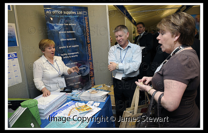 30/04/2008   Copyright Pic: James Stewart.File Name : 07_business_fair.FALKIRK BUSINESS FAIR 2008.AG OFFICE SUPPLIES.James Stewart Photo Agency 19 Carronlea Drive, Falkirk. FK2 8DN      Vat Reg No. 607 6932 25.Studio      : +44 (0)1324 611191 .Mobile      : +44 (0)7721 416997.E-mail  :  jim@jspa.co.uk.If you require further information then contact Jim Stewart on any of the numbers above........