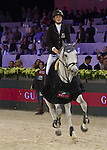 Pénélope Leprevost, French ridder, on Mylord Carthago, first round, final winner of the Gucci Grand Prix