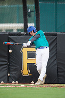 Hunter Selzer (65), from Berlin, Maryland, while playing for the Mariners during the Baseball Factory Pirate City Christmas Camp & Tournament on December 29, 2017 at Pirate City in Bradenton, Florida.  (Mike Janes/Four Seam Images)