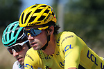 TOUR DE FRANCE 2020- UCI Cycling World Tour under Virus Outbreak. Stage 16th from La Tour-Du-Pin to Villard-De-Lans on the 15th of September 2020, La Tour-du-Pin, France. Primoz Roglic Slovenia Team Jumbo - Visma          -