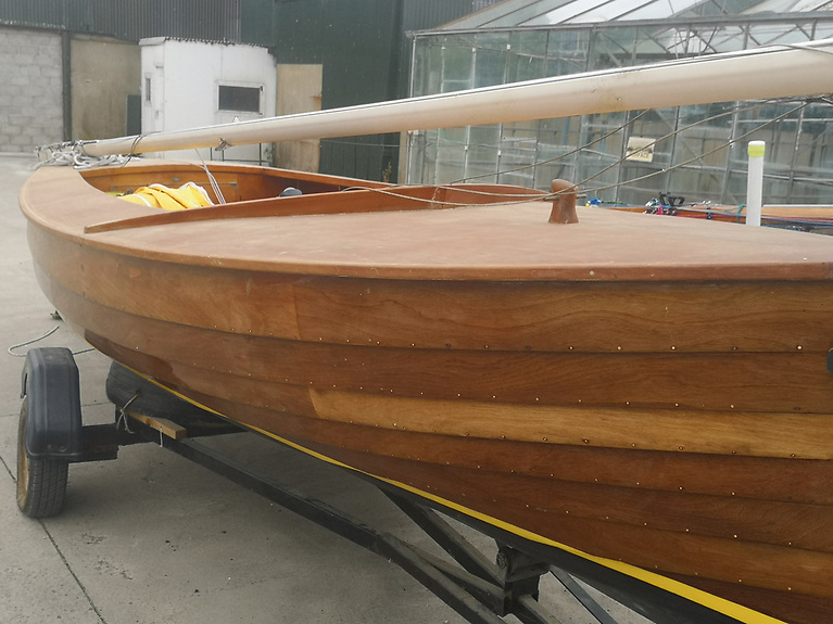 Fingal - a beautiful piece of outstanding dinghy building craftsmanship