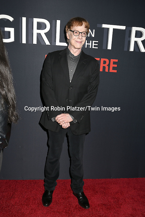 """Composer Danny Elfman  attends """"The Girl on the Train"""" New York Premiere on October 4, 2016 at Regal E-Walk Stadium 13 & RPX  in New York,New York,  USA.<br /> <br /> photo by Robin Platzer/Twin Images<br />  <br /> phone number 212-935-0770"""
