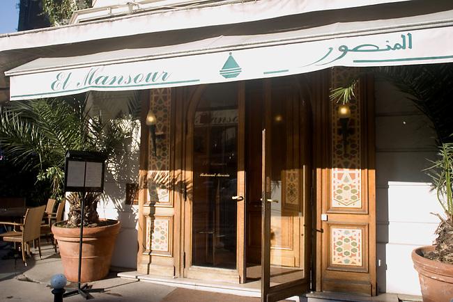 Exterior, El Monsour Restaurant, Paris, France, Europe