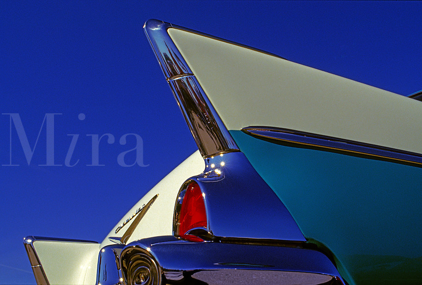 57 Chevy fins