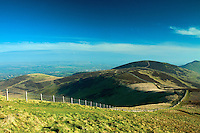 Castlelaw Hill from Allermuir Hill, The Pentland Hills, The Pentland Hills Regional Park, Lothian