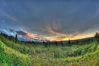 Sunset on the Sawbill Trail