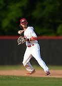 Lake Mary Rams shortstop Brendan Rodgers (3) during practice before a game against the Lake Brantley Patriots on April 2, 2015 at Allen Tuttle Field in Lake Mary, Florida.  Lake Brantley defeated Lake Mary 10-5.  (Mike Janes Photography)