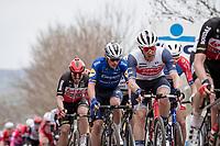 Jasper Stuyven (BEL/Trek-Segafredo) up the Oude Kwaremont<br /> <br /> 105th Ronde van Vlaanderen 2021 (MEN1.UWT)<br /> <br /> 1 day race from Antwerp to Oudenaarde (BEL/264km) <br /> <br /> ©kramon