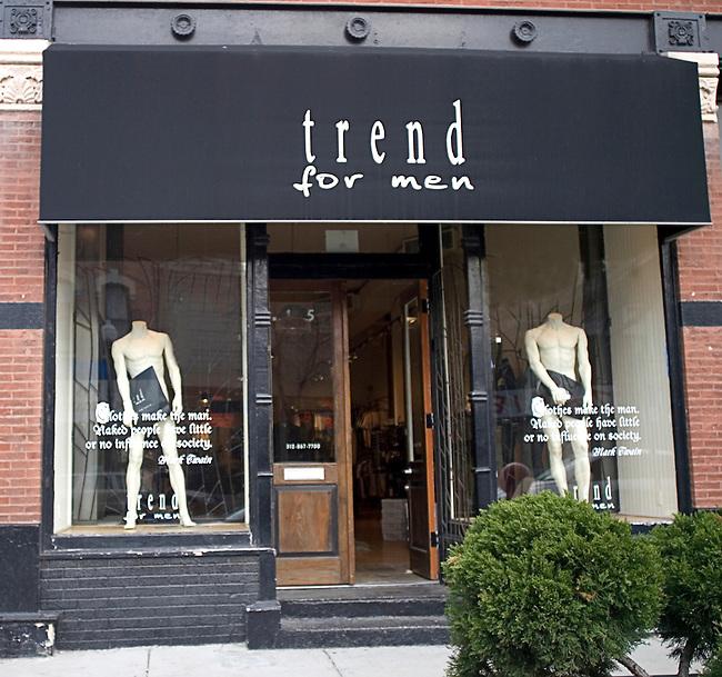 Shopping, Trend for Men, Chicago, Illinois
