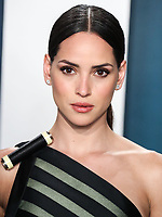 BEVERLY HILLS, LOS ANGELES, CALIFORNIA, USA - FEBRUARY 09: Actress Adria Arjona arrives at the 2020 Vanity Fair Oscar Party held at the Wallis Annenberg Center for the Performing Arts on February 9, 2020 in Beverly Hills, Los Angeles, California, United States. (Photo by Xavier Collin/PictureGroup)