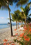 MUS, Mauritius, Trou aux Biches: Strand   MUS, Mauritius, Trou aux Biches: beach