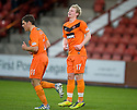 GARY MACKAY-STEVEN CELEBRATES AFTER HE SCORES DUNDEE UTD'S FOURTH