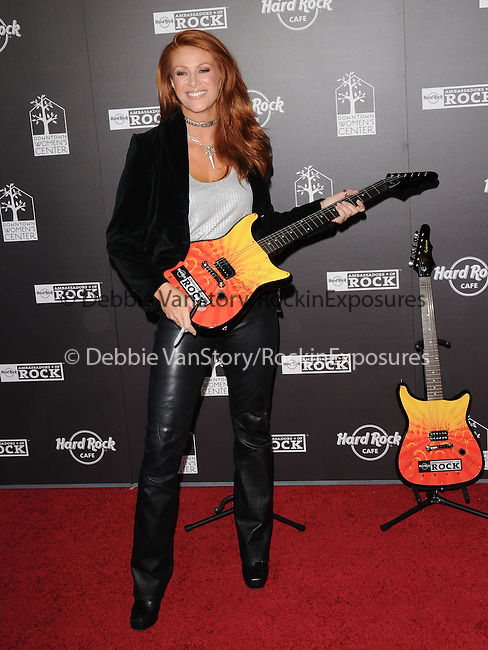 Angie Everhart at The Hard Rock Cafe Hollywood's grand opening party in Hollywood, California on October 21,2010                                                                               © 2010 Hollywood Press Agency