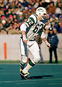New York Jets Al Atkinson (62) during a game from his 1972 season with the New York Jets. Al Atkinson played 10 seasons, all for the New York Jets and was a 1-time Pro Bowler. (SPORTPICS)