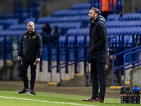 Bolton Wanderers' head coach Ian Evatt looks on  <br /> <br /> Photographer Andrew Kearns/CameraSport<br /> <br /> The EFL Sky Bet League Two - Bolton Wanderers v Mansfield Town - Tuesday 3rd November 2020 - University of Bolton Stadium - Bolton<br /> <br /> World Copyright © 2020 CameraSport. All rights reserved. 43 Linden Ave. Countesthorpe. Leicester. England. LE8 5PG - Tel: +44 (0) 116 277 4147 - admin@camerasport.com - www.camerasport.com