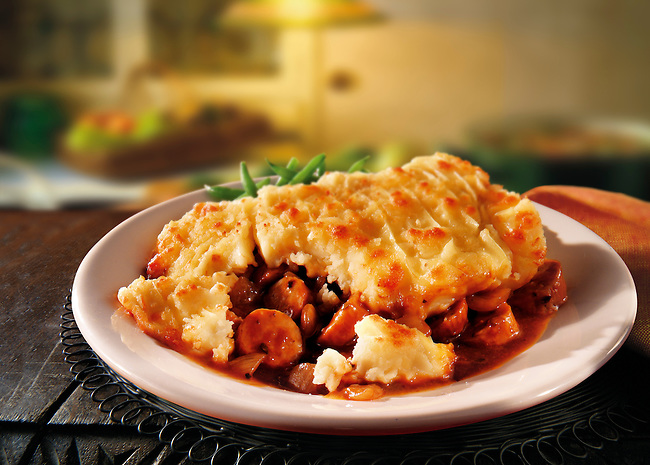 British Food - Cumberland sausage pie