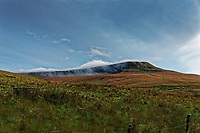 2019 10 26 A cloud over one of the summits of the Brecon Beacons, Wales, UK