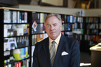Glenn DuBois, chancellor of the Virginia Community College System, photographed for the Rural Horseshoe Initiative project in Richmond, Va. Photo/Andrew Shurtleff