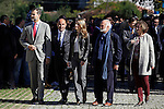 Prince Felipe of Spain (1L) and Princess Letizia (3L) of Spain visit the northern village of Teverga during the celebration of the 2013 Prince of Asturias Awards in Teverga, Spain. Teverga received the honorary mention of Exemplary Village in 2013. October 26, 2013..(ALTERPHOTOS/Victor Blanco)