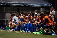 Miami, FL - Tuesday, October 15, 2019:  USMNT U-23 during a friendly match between the USMNT U-23 and El Salvador at FIU Soccer Stadium.