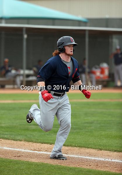 Clint Frazier - Cleveland Indians 2016 spring training (Bill Mitchell)