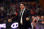 League ACB-Endesa 2013/2014 - Game: 15.<br /> FIATC Joventut vs Bilbao Basket: 80-70.<br /> Rafael Pueyo.