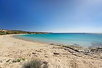 Charokopou Beach (Foinikas) of Koufonissi island in Cyclades, Greece
