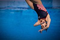 Maric Marcela CRO<br /> Diving - Women's 3m preliminary<br /> XXXV LEN European Aquatic Championships<br /> Duna Arena<br /> Budapest  - Hungary  15/5/2021<br /> Photo Giorgio Perottino / Deepbluemedia / Insidefoto