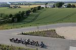 Foto: VidiPhoto..SKANDERBORG - Motoren bij het hoogste punt van Denemarken in Skanderborg.