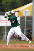 Farmingdale State Rams Christopher Reilly during a game against the U-Mass Boston Beacons at North Charlotte Regional Park on March 19, 2015 in Port Charlotte, Florida.  U-Mass Boston defeated Farmingdale 9-5.  (Mike Janes/Four Seam Images)