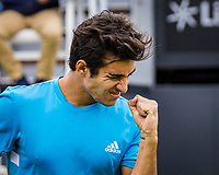 Rosmalen, Netherlands, 13 June, 2019, Tennis, Libema Open, Christian Garin (CHI)<br /> Photo: Henk Koster/tennisimages.com